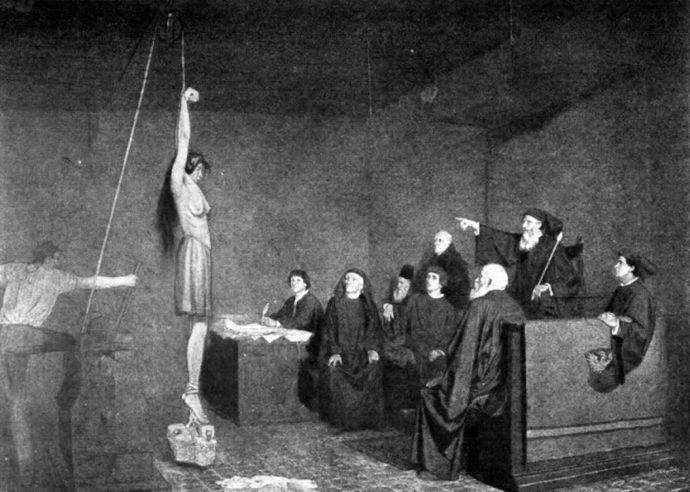 10 de las Historias y Torturas de la Inquisición Española más macabras de la historia