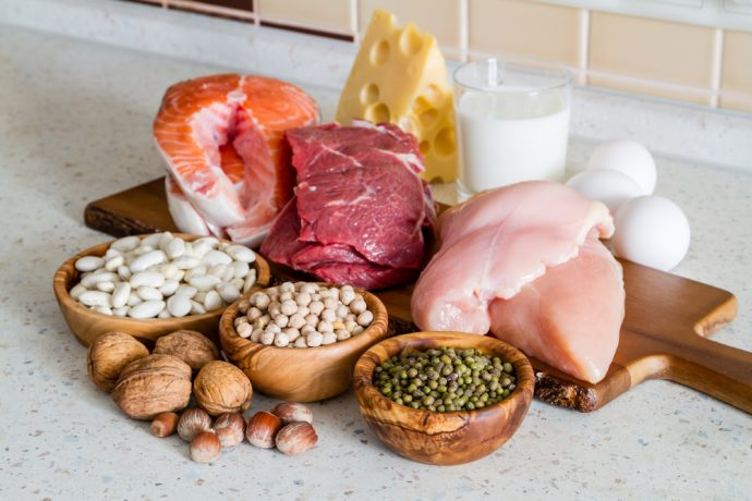 alimentos proteina
