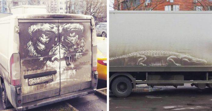 bandalismo coches obras de arte banner