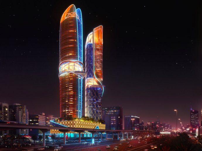 Dubai está construyendo el primer rascacielos del mundo con una gigantesca selva tropical en su interior