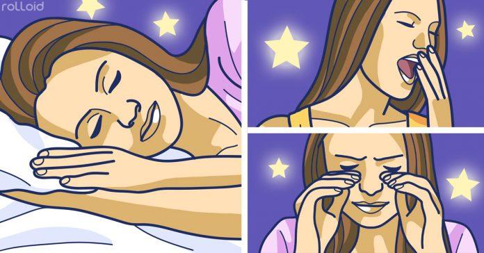 efectos secundarios que tiene no dormir suficiente banner