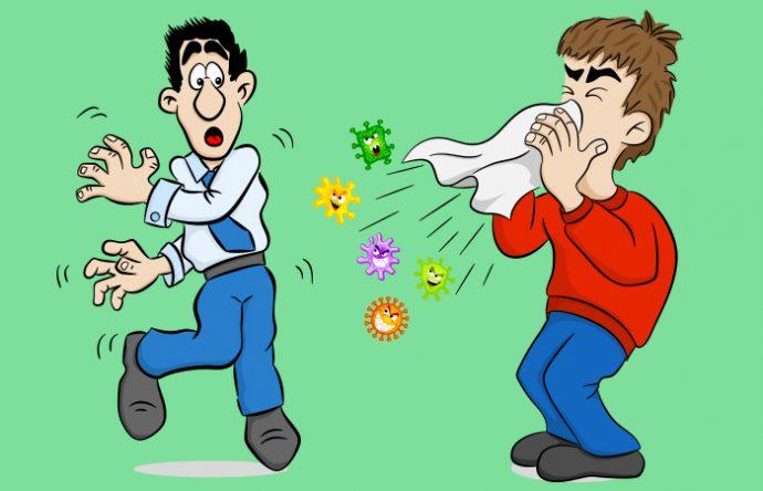 9 Cosas que le podrían ocurrir a nuestro cuerpo al aguantarnos los estornudos, los pedos y los eructos