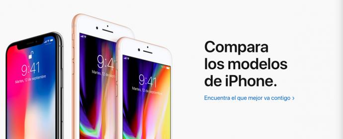 Apple vende ahora un iPhone tirado de precio tras anunciar el nuevo iPhone X
