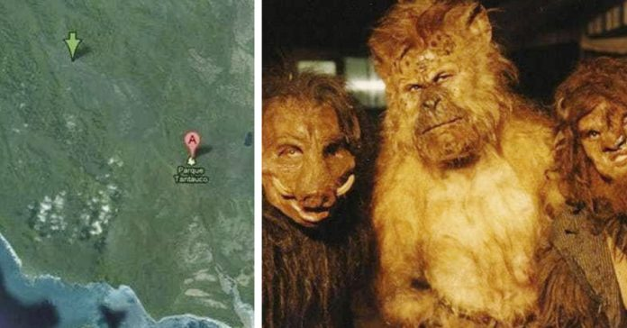 lugares misteriosos google maps banner