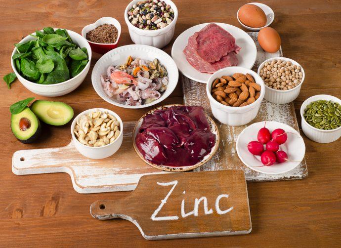 zinc alimentos