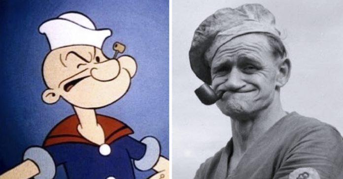 10 personajes de dibujos animados que estan inspirados en personas de carne y hueso banner