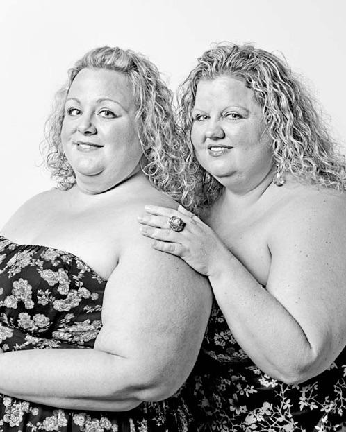15 Personas idénticas que consideraron gemelos y no se conocían de nada