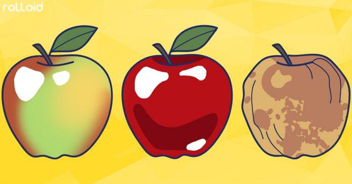 es cierto que una manzana podrida hace que el resto se pudra banner