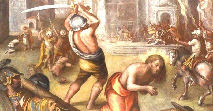 formas violentas muertes discipulos jesus banner
