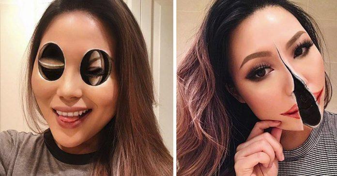ilusiones opticas maquillaje banner