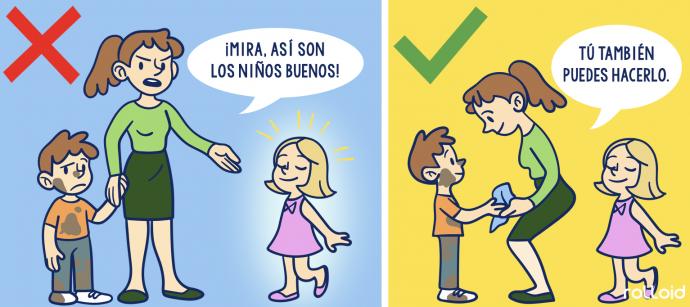 7 Cosas que nunca deberías decir a tus hijos y las frases por las que puedes sustituirlas