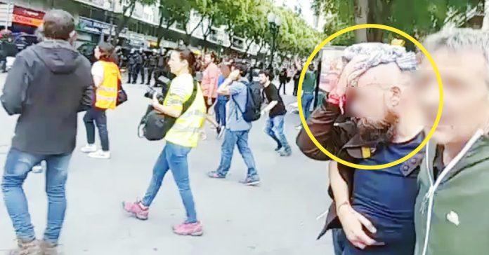 incendia las redes el polemico video de unos hombres uno de ellos herido y su enfrentamiento con la policia banner
