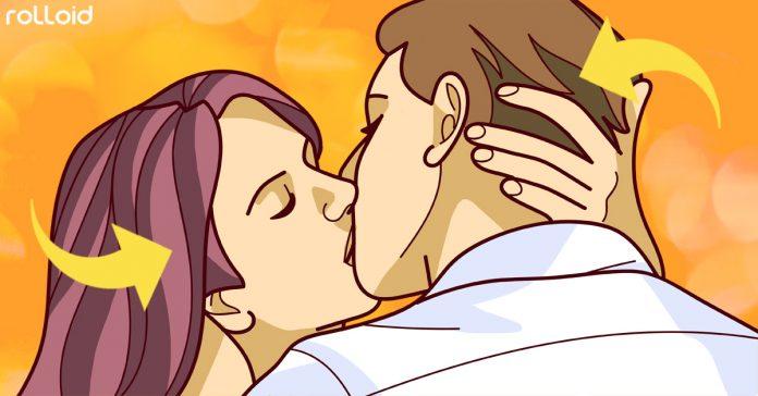 por que inclinamos cabeza para dar beso banner
