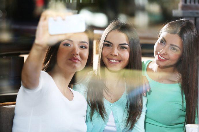 selfie amigas