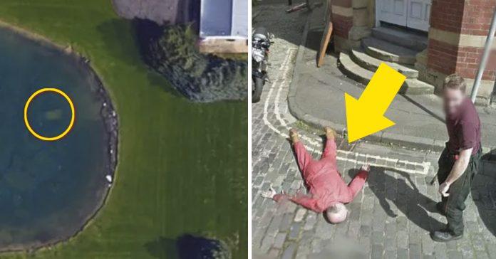 14 inquietantes momentos que se han capturado en google maps banner