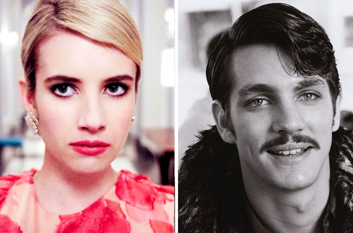 20 Imágenes de famosos y sus padres con la misma edad que tendrás que mirar dos veces para distinguirlos