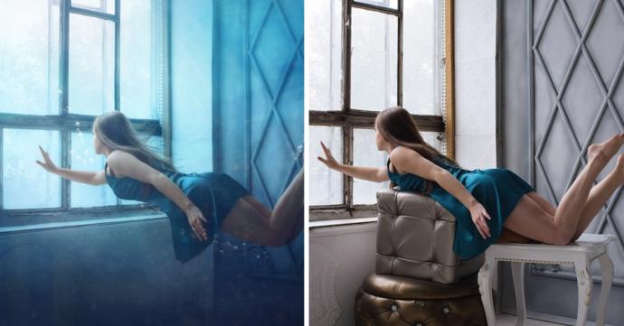 14 Imágenes que muestran los secretos y verdades de todas las fotografías perfectas que se ven en Internet