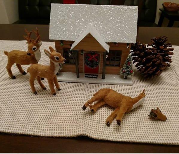 16 Ejemplos Surrealistas que muestran por qué la Navidad se nos está yendo de las manos