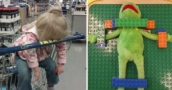 25 fotos que demuestran que ir de compras con ninos es mision imposible banner