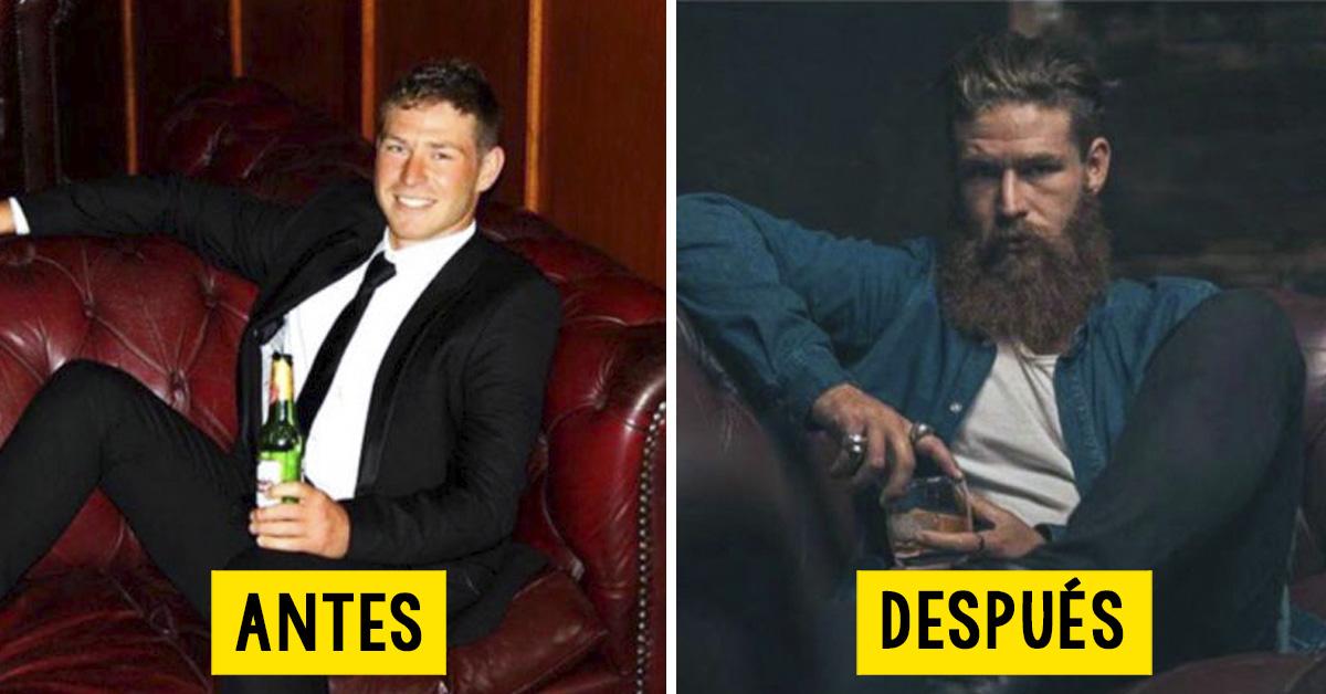 30 Sorprendentes Transformaciones De Hombres Que Se Dejaron Barba Y No Volvieron A Afeitarse Después de un largo viaje que duró cinco horas ante los amigos se abrió un paisaje increíble. hombres que se dejaron barba