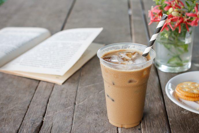 cafe helado frio