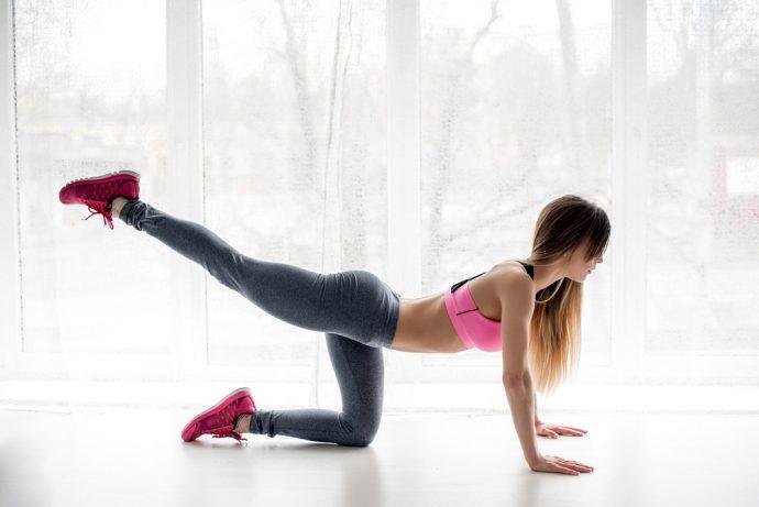 ejercicio gluteos piernas