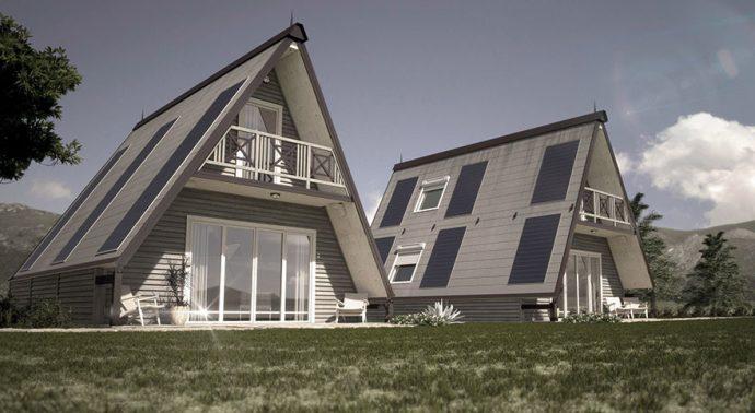 Un arquitecto italiano crea una casa que se construye en 6 horas y que puedes comprar por 30.000 euros