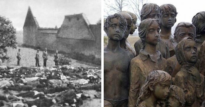 la implacable venganza nazi la masacre de lidice banner