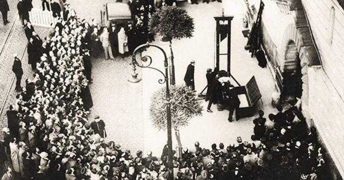 la ultima ejecucion por guillotina banner