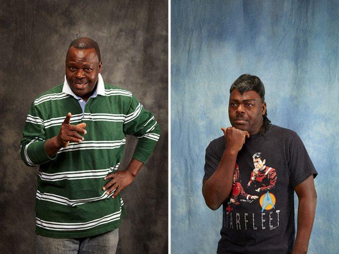 9 Imágenes del antes y después que muestran la transformación de personas en lo que siempre habían querido