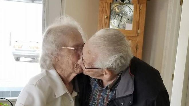 Obligan a una pareja de Ancianos a separarse por primera vez tras 70 años juntos justo antes de Navidad