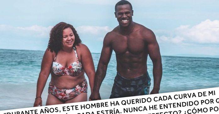 se extiende por las redes la foto de esta pareja de vacaciones y empieza un debate sobre el fisico de sus protagonistas banner