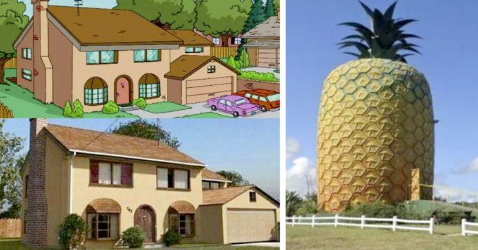 10 casas mundo real inspiradas en mansiones de los dibujos animados banner