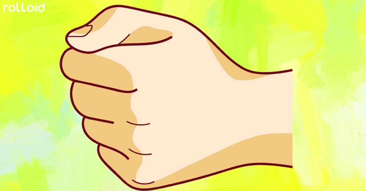 Las 4 Formas de cerrar el puño y los secretos que revelan sobre nuestra personalidad