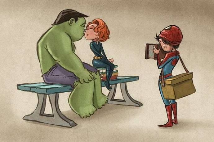 15 Personajes de Marvel y Disney que se han colado en la vida cotidiana de las personas