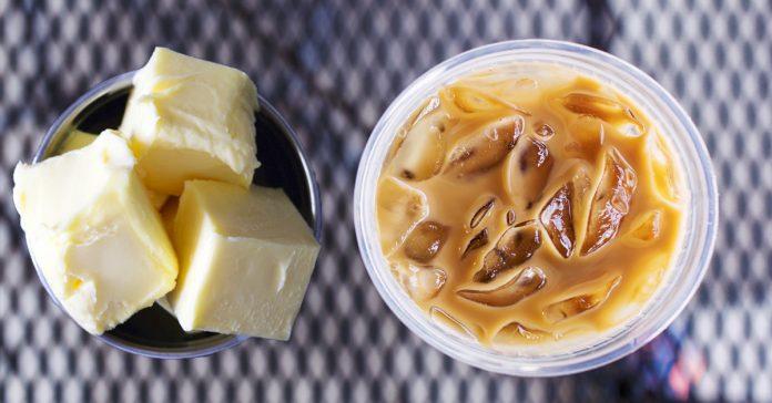 como perder peso anadiendo mantequilla en tu cafe banner