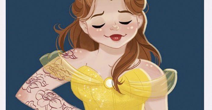 como serian las princesas disney si tuvieran las curvas de una pinup banner