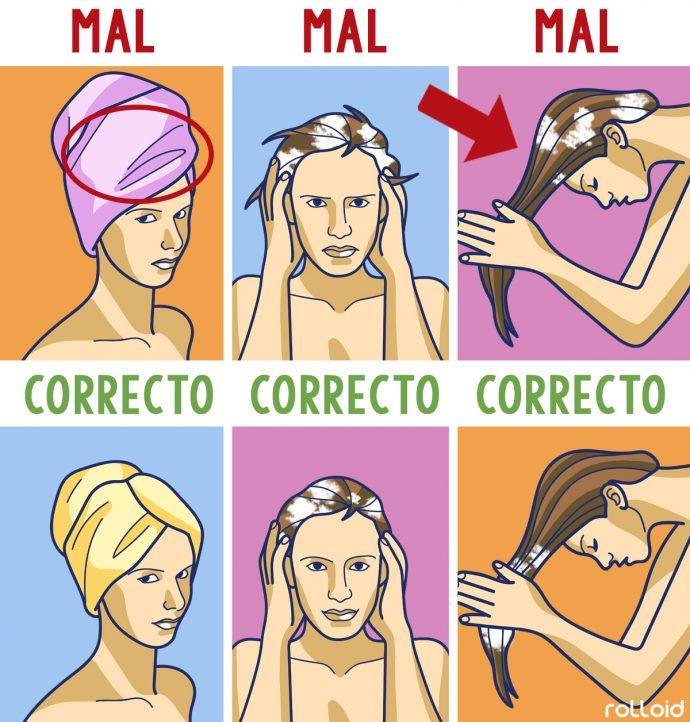 10 Trucos para no tener que lavar el cabello a diario y tener un pelo radiante