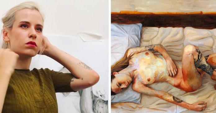 descubre a la artista que ha pintado la cruda realidad de vivir con endometriosis banner