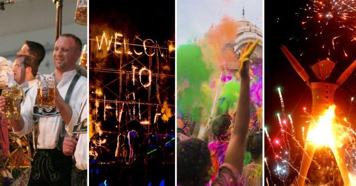 las 10 fiestas mas grandes y peligrosas del mundo banner