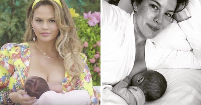 10 famosas que han elegido dar el pecho a sus hijos y estan orgullosas de ello banner