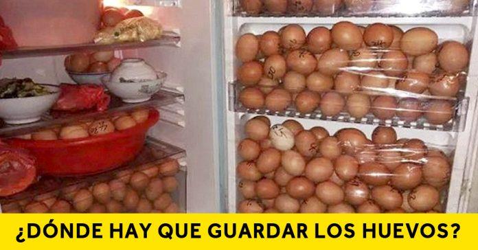 el gran dilema de los huevos donde hay que guardarlos banner