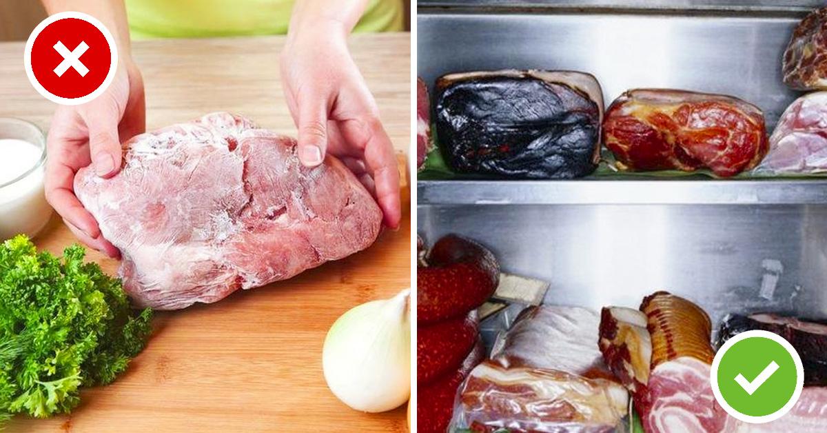 la forma en la que estas descongelando la carne pone en peligro a tu familia 02