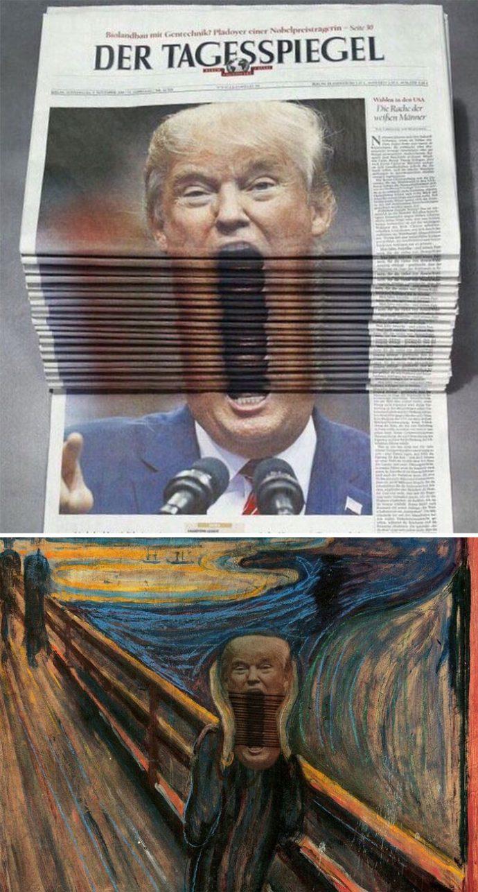 20 Divertidas imágenes que Internet ha terminado convirtiendo en la mejores batallas de Photoshop