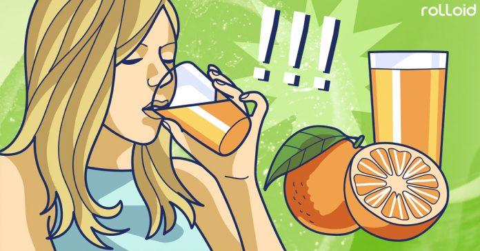 motivos por los que no debes beber zumo de naranja banner