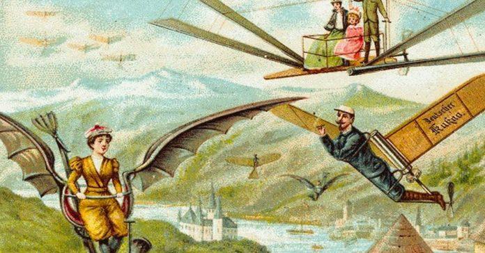 como imaginaban en 1900 que seria el ano 200 banner