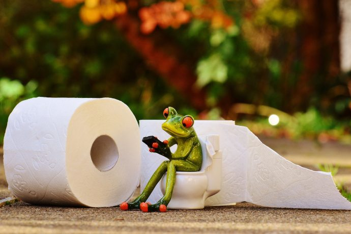 3 Razones por las que no debes cubrir con papel higiénico la taza del váter
