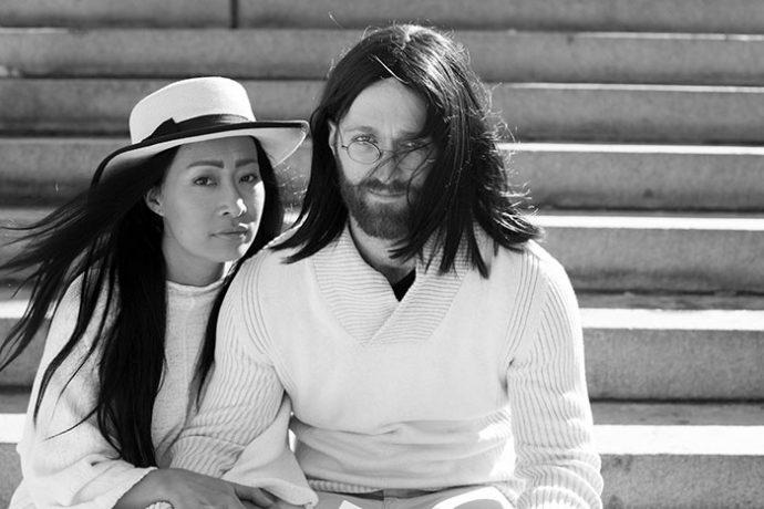 22 Imágenes de la pareja que decidió sacarse fotos imitando las películas más famosas de la historia