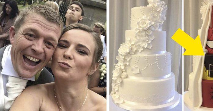 esta pareja tuvo la mejor tarta boda banner
