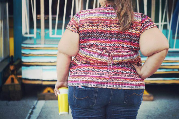 mujer obesa peso